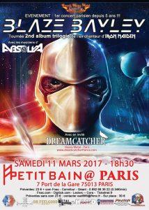 Blaze Paris 11 mars 2017