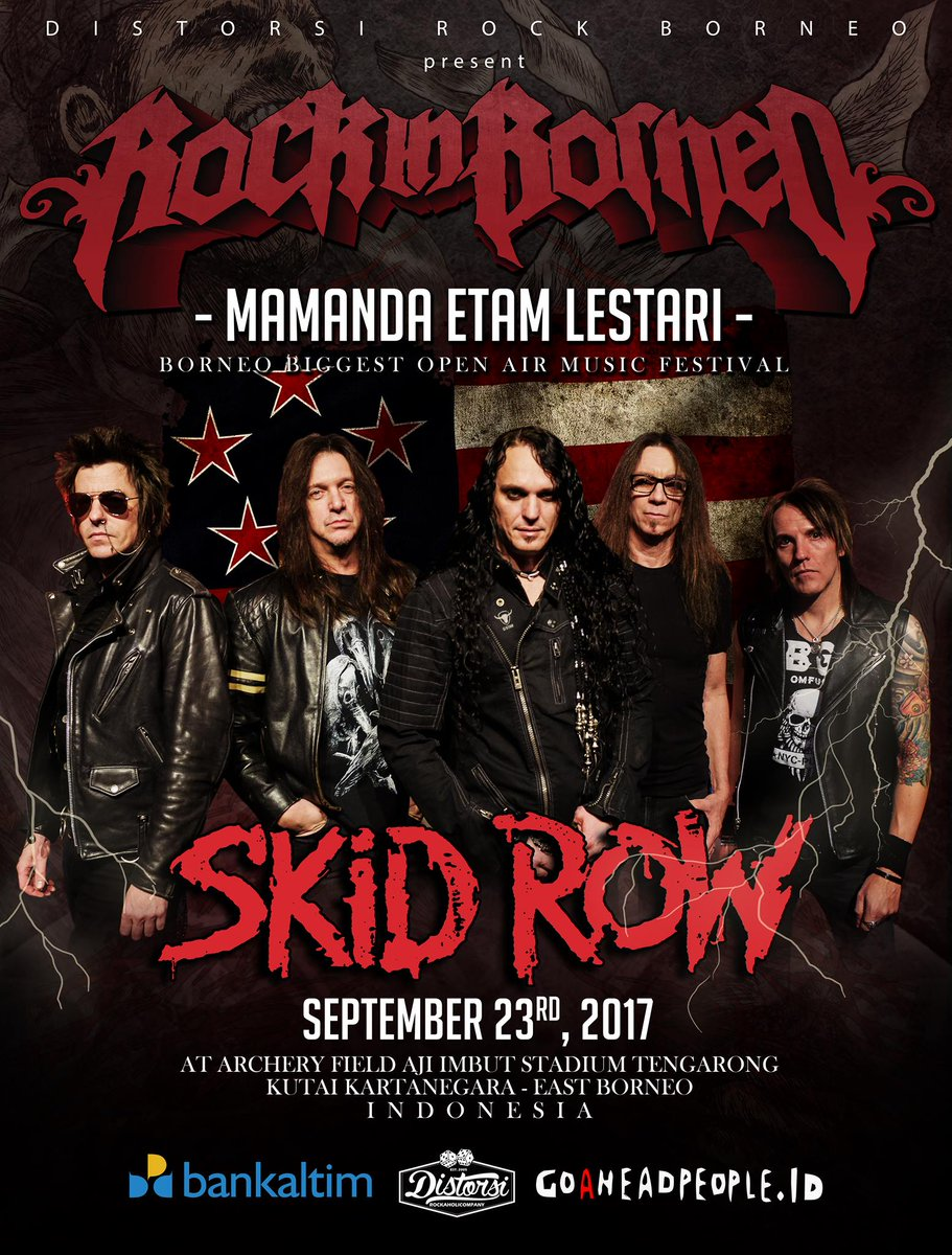 SKID ROW BORNEO
